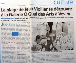 PresseHebdo Riviera Chablais, 22 juin 2006